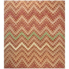 Contemporary Geometric Tribal Rug