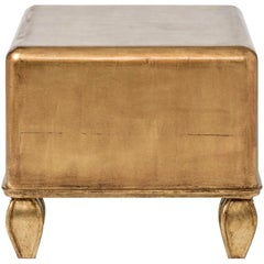 Contemporary Giltwood Coffee Table