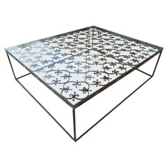 Contemporary  Design Glass Center Table, France