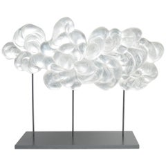 Contemporary Glass Cloud Sculpture, Grand Nuage