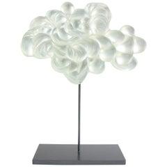 Contemporary Glass Cloud Sculpture, Nuage III