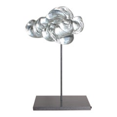 Contemporary Glass Cloud Sculpture, Nuage V