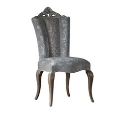 Contemporary Gray Dining Chair