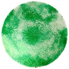 Contemporary Green Polycarbonate Circular Italian Jacopo Foggini Wall Lamp