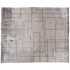 Contemporary Grey Rug
