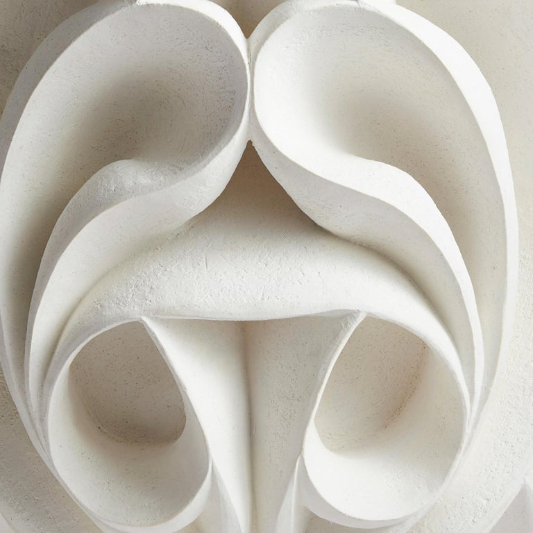 British Contemporary Hand Carved Ceramic Sculpture by Halima Cassell For Sale
