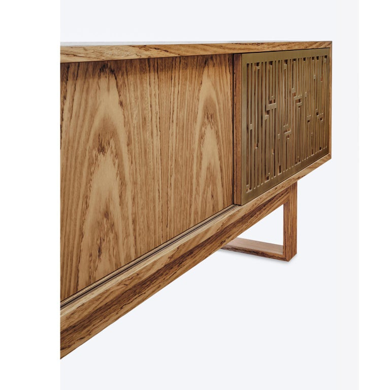Contemporary, handcrafted buffet, model