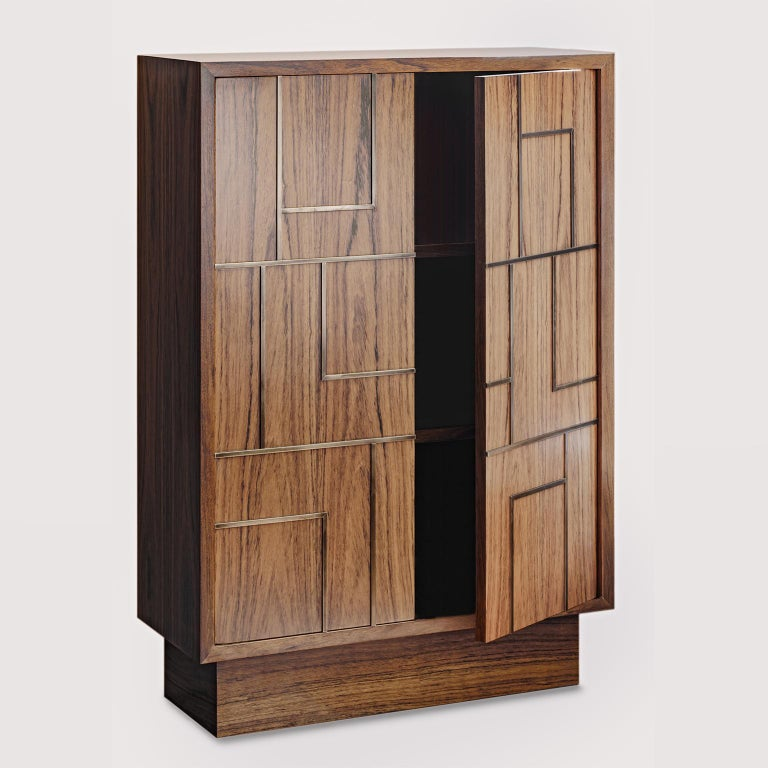 Modern Contemporary Handcrafted Cabinet