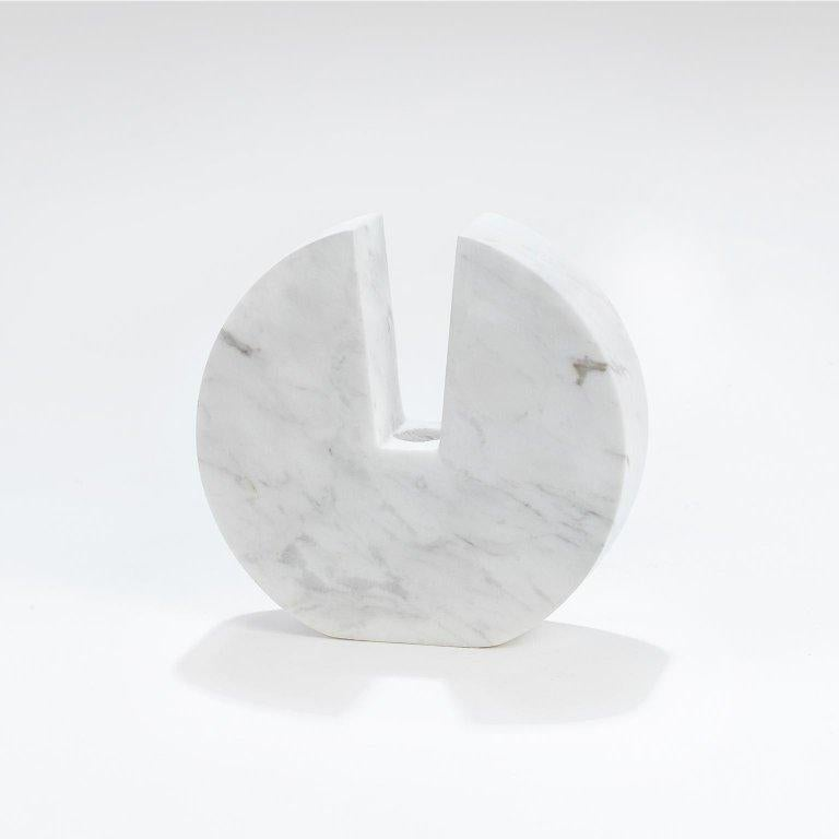Contemporary handcrafted, candleholder, model