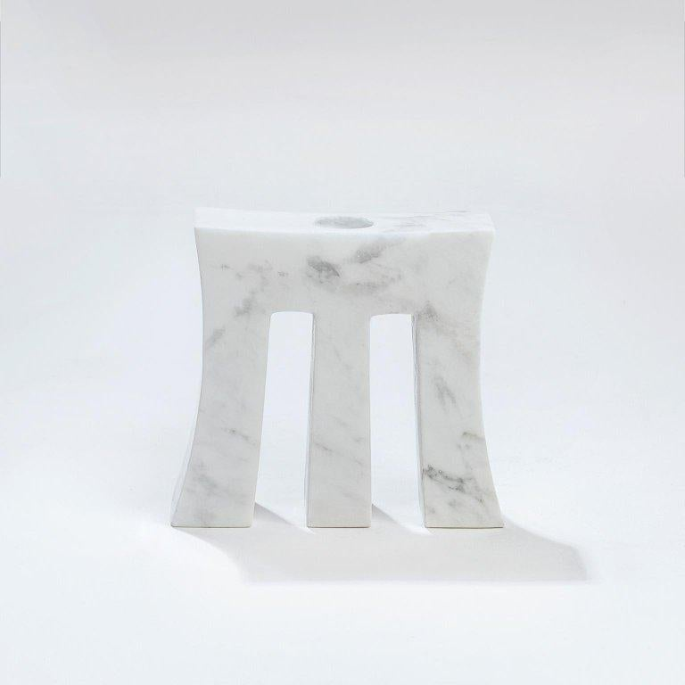 Contemporary handcrafted candleholder, model