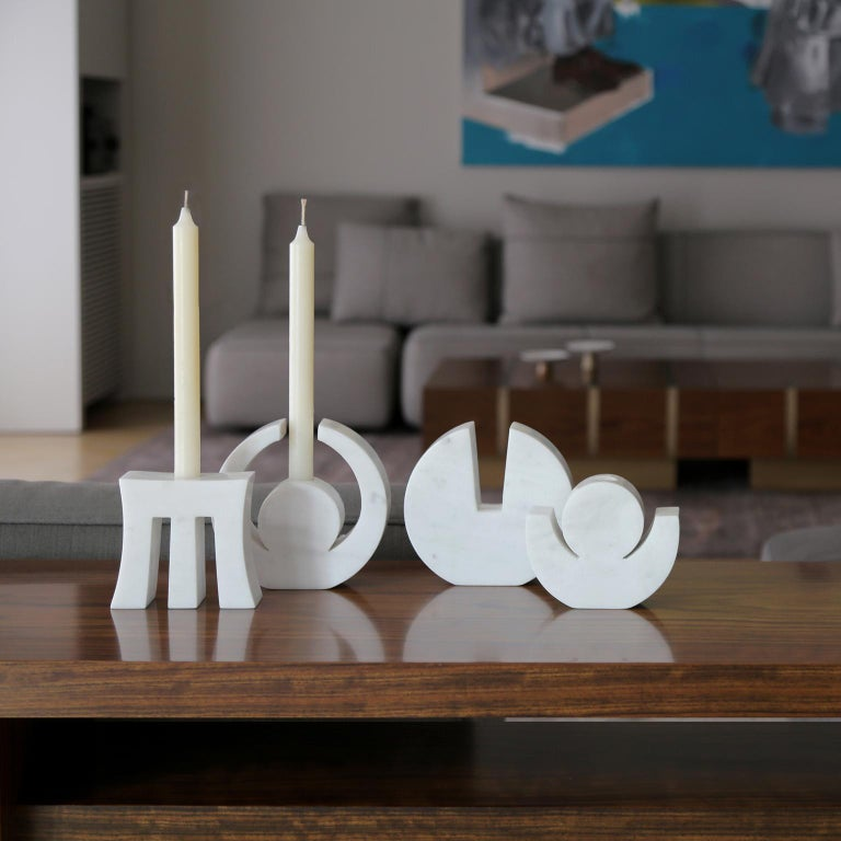 Contemporary Handcrafted Candle Holder