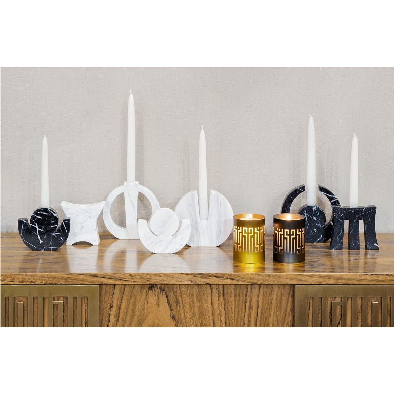 Hand-Crafted Contemporary Handcrafted Candle Holder
