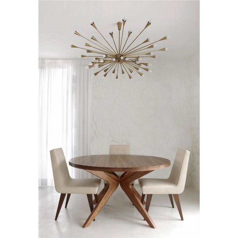 Contemporary, handmade ceiling fixture model