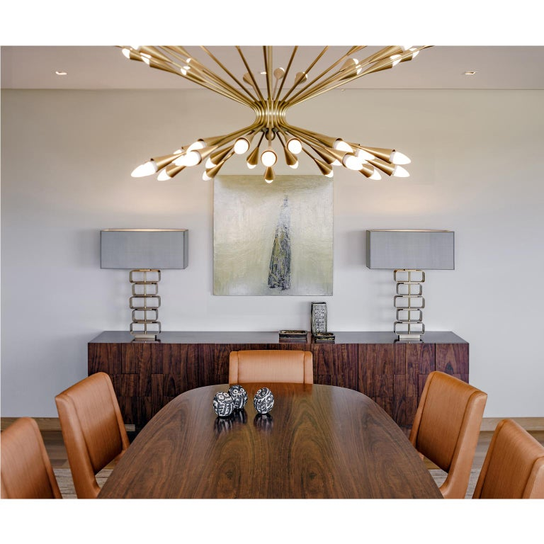 Greek Contemporary Handcrafted Ceiling Lamp