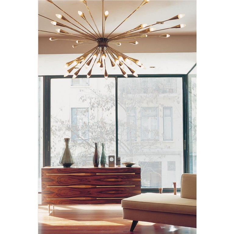 Contemporary Handcrafted Ceiling Lamp