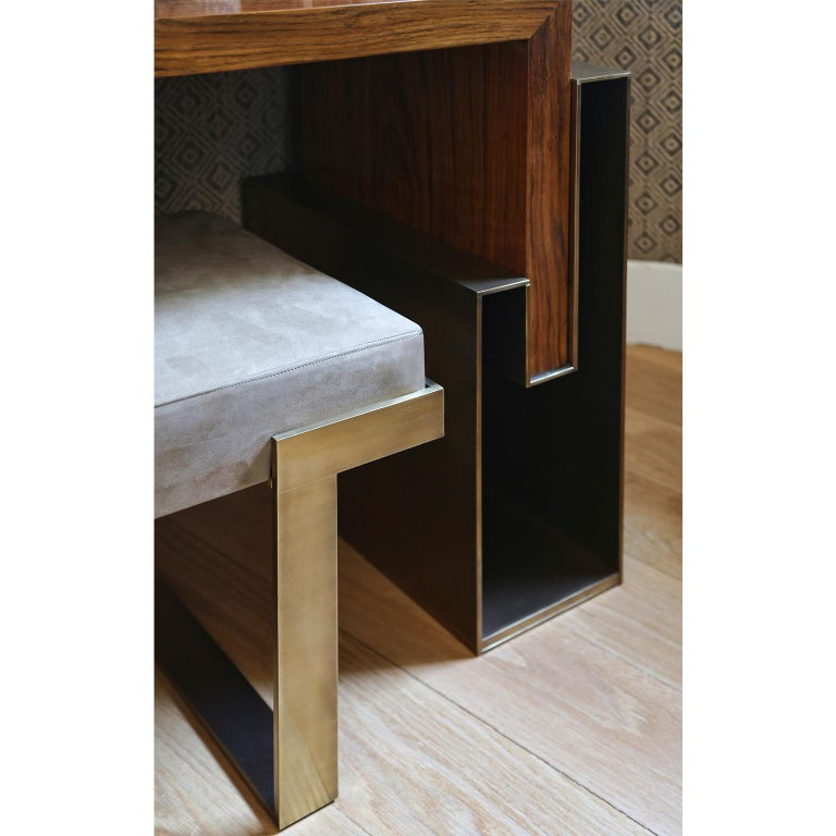 Modern Contemporary Handcrafted Console