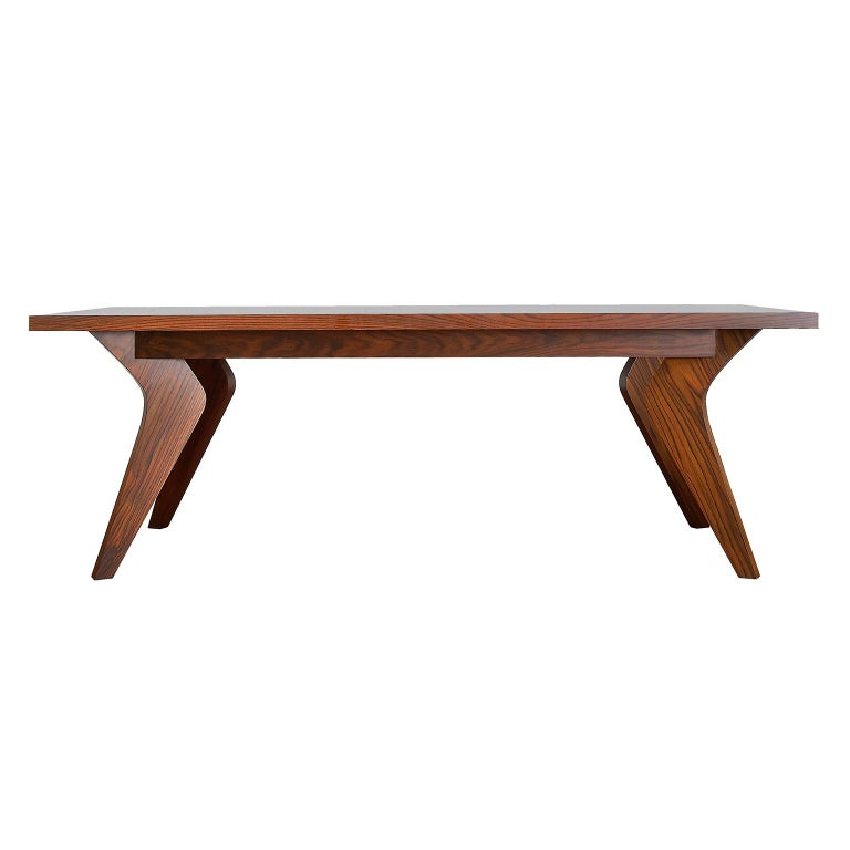 Contemporary handmade dining table, model