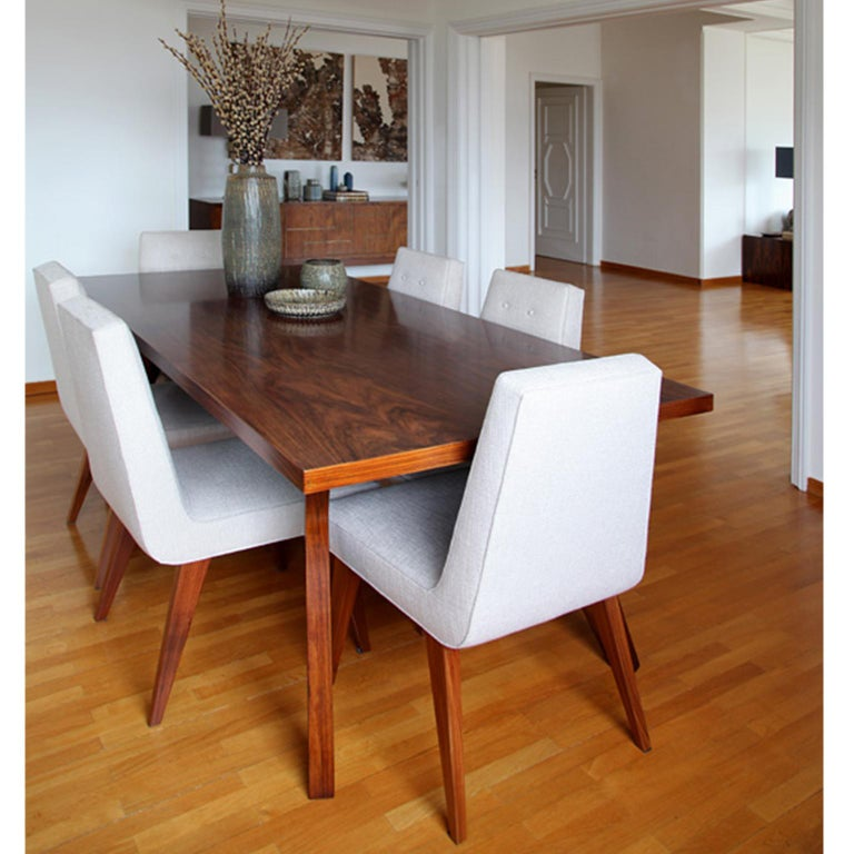 Hand-Crafted Contemporary Handcrafted Dining Table