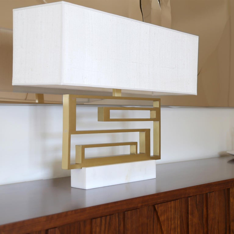 Modern Contemporary Handmade Geometric Table Lamp