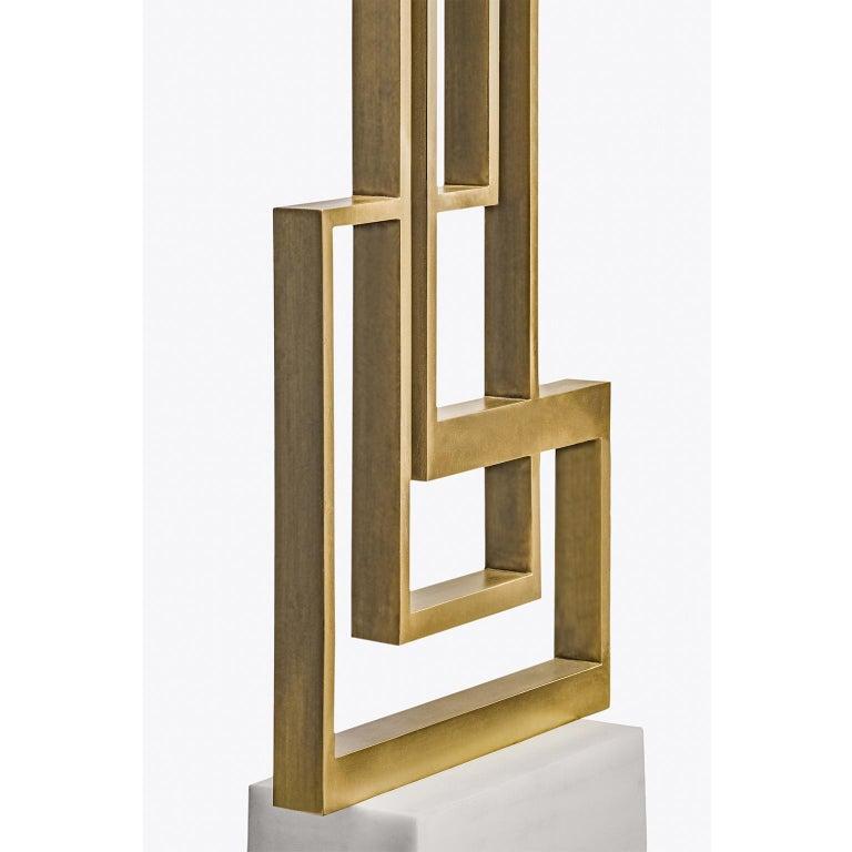 Greek Contemporary Handmade Geometric Table Lamp