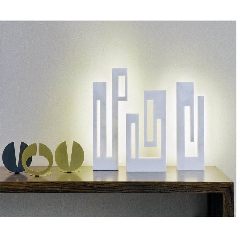 Hand-Crafted Contemporary Handcrafted Sculptural Table Lamp
