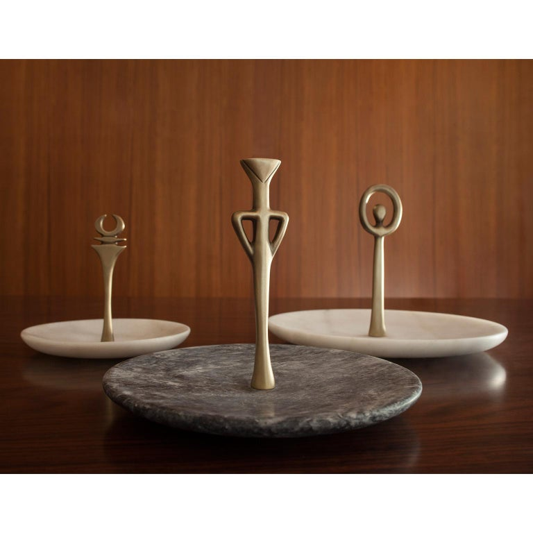 Contemporary Handcrafted Serving Plate