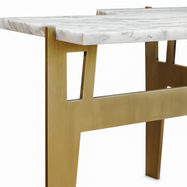 Hand-Crafted Contemporary Handmade Side Table