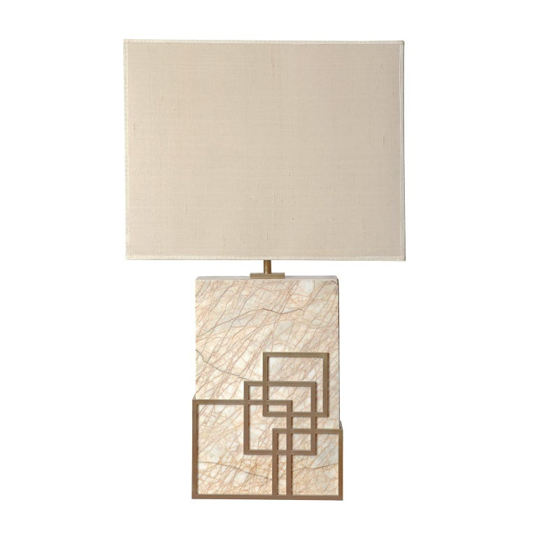 Modern Contemporary Handcrafted Table Lamp
