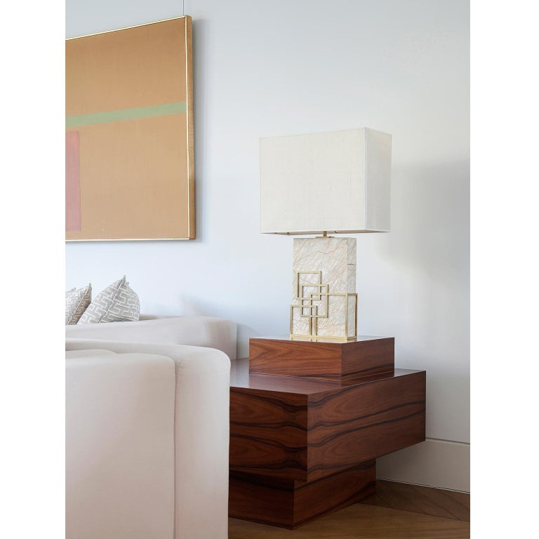 Greek Contemporary Handcrafted Table Lamp