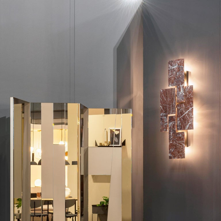 Modern Contemporary Handcrafted Wall Lamp