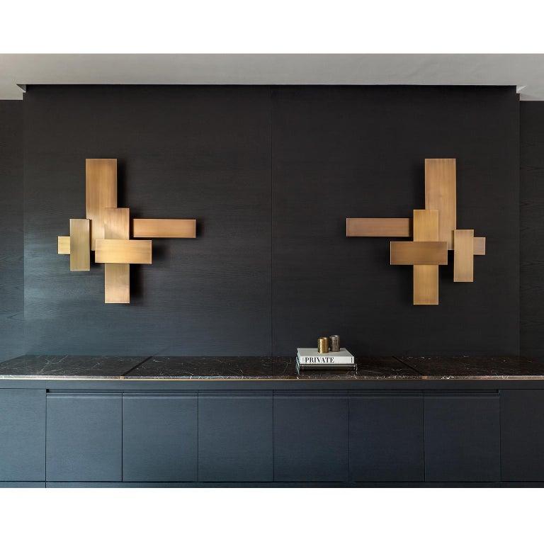 Greek Contemporary Handmade Wall Lamp