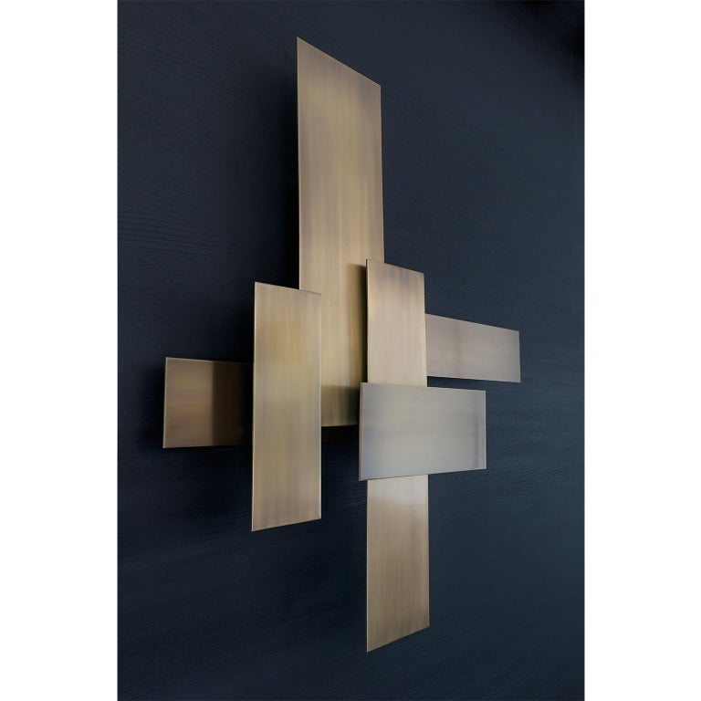 Hand-Crafted Contemporary Handmade Wall Lamp
