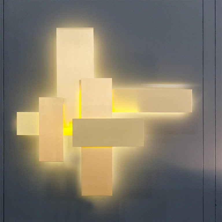 Contemporary Handmade Wall Lamp