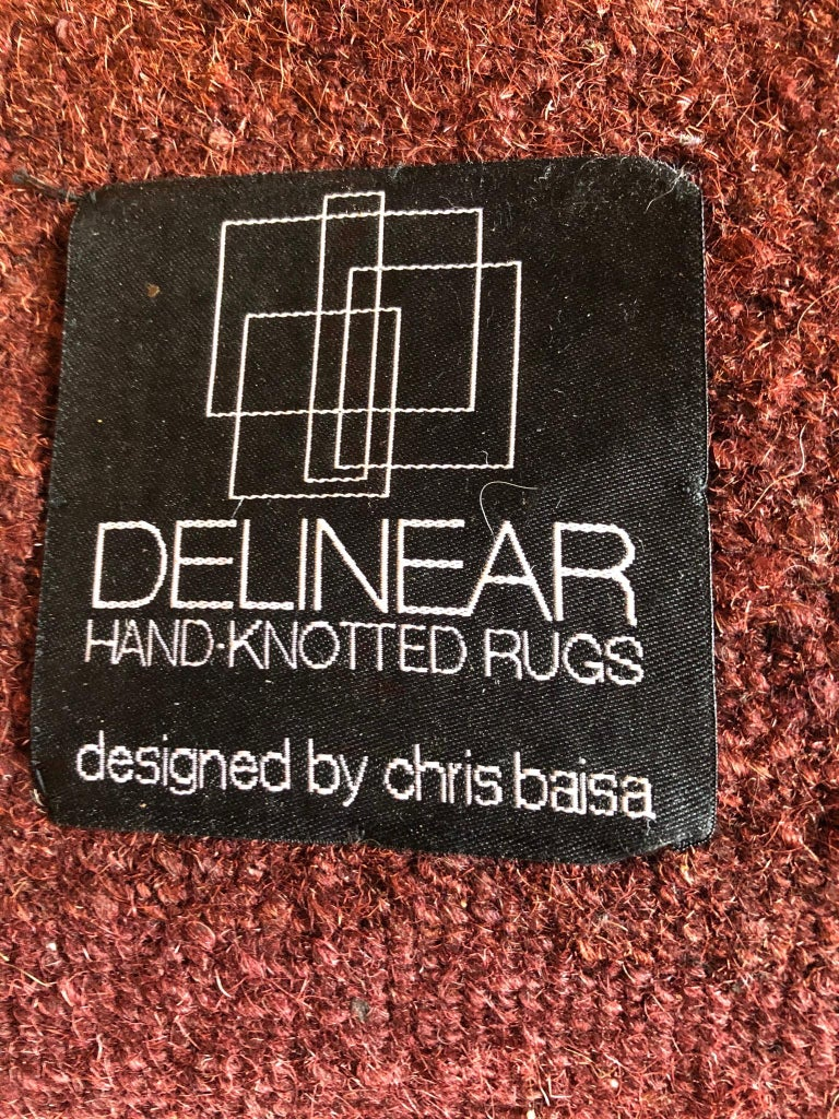 Delinear Inc. was founded in San Francisco in 1996 by Chris Baisa, whose creative work spans textile, product and furniture design. Baisa's Gridloc tables were sold at SFMOMA, The Art Institute Chicago and Design Within Reach. His rug designs have