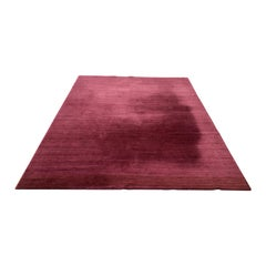 Contemporary Hand Knotted Rug Designed by Chris Baisa for Delinear
