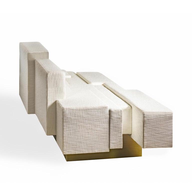 Greek Contemporary Handmade Asymmetrical