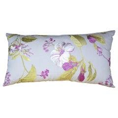 Contemporary Handmade Designer Floral Pillow