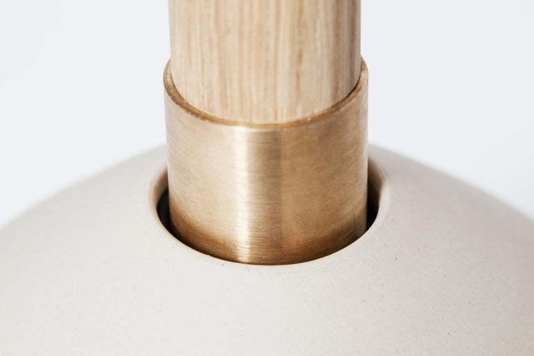 Minimalist Contemporary Handmade Scandinavian Side Table or Stool