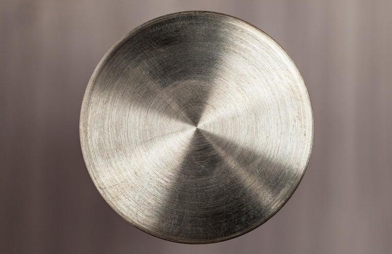 Contemporary Handmade Scandinavian Side Table or Stool