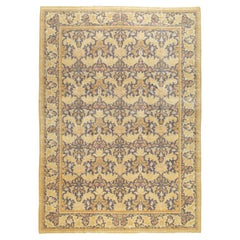 Contemporary Handmade Spanish Arts & Crafts Cuenca Room Size Carpet