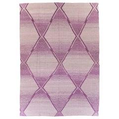 Contemporary Handmade Turkish Flatweave Kilim Large Room Size Carpet