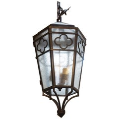Contemporary Hanging Lantern