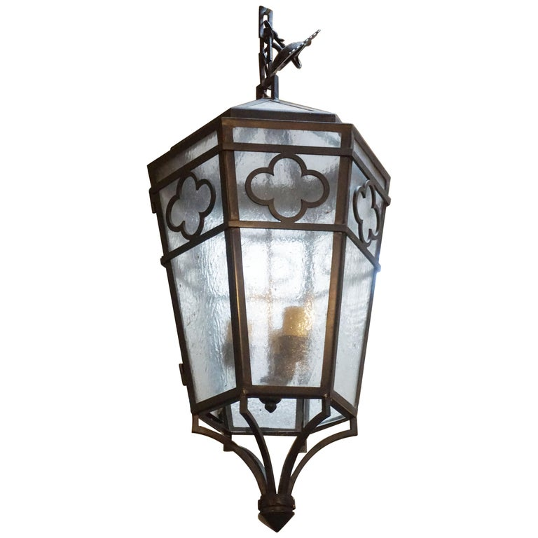 Contemporary Hanging Lantern For Sale