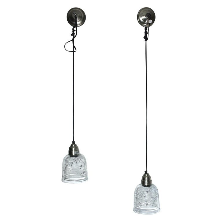 Contemporary Hanging Light Fixtures, Sold Singly For Sale