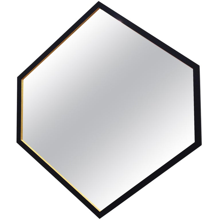 """Contemporary """"Hex Mirror"""" by Alex Drew & No One, 2016 For Sale"""