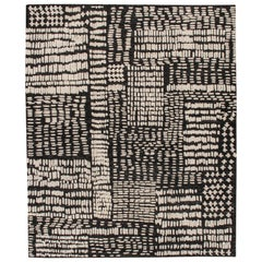 Contemporary High Low Weave Rug