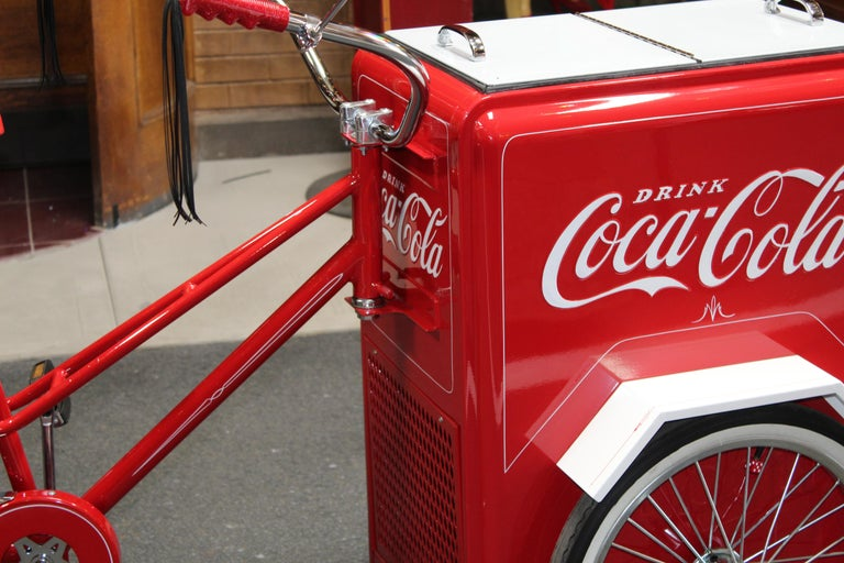 Contemporary Huffy Coca Cola Cooler Tricycle Vendor Bike For Sale 5