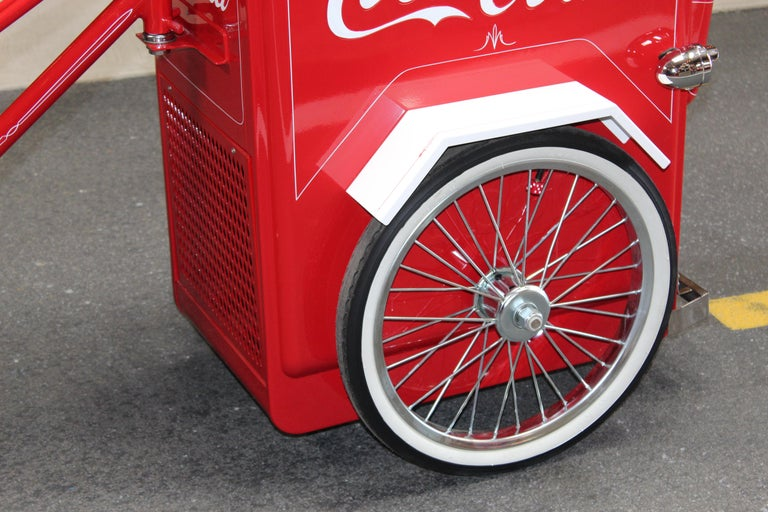 Contemporary Huffy Coca Cola Cooler Tricycle Vendor Bike For Sale 6