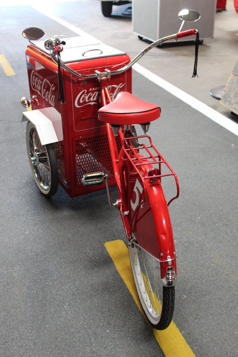 Contemporary Huffy Coca Cola Cooler Tricycle Vendor Bike For Sale 8