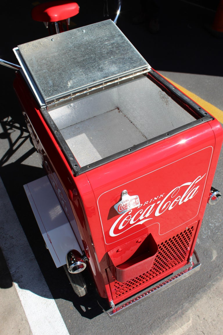 Contemporary Huffy Coca Cola Cooler Tricycle Vendor Bike For Sale 10